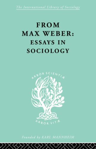 From Max Weber - Essays in Sociology   2007 9780415436663 Front Cover