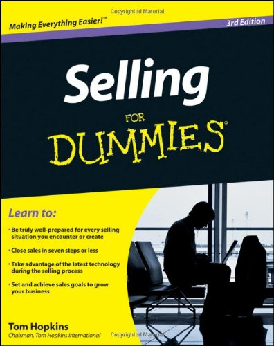 Selling for Dummies�  3rd 2011 9780470930663 Front Cover