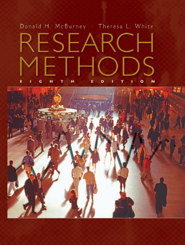 Research Methods with APA Updates, Revised Edition  8th 2010 edition cover