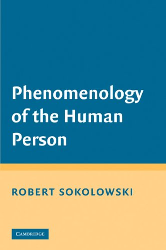 Phenomenology of the Human Person   2008 edition cover