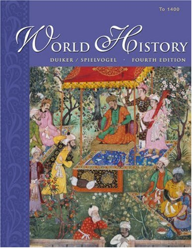 World History To 1400 4th 2004 9780534603663 Front Cover