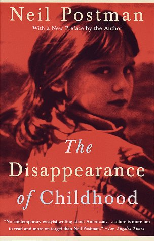 Disappearance of Childhood   1994 edition cover