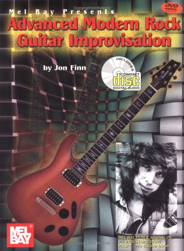 Advanced Modern Rock Guitar Improvisation   1999 edition cover