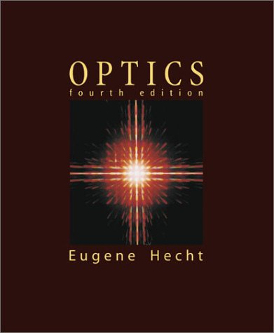Optics  4th 2002 (Revised) edition cover