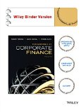 Fundamentals of Corporate Finance  3rd 2015 9781118901663 Front Cover