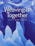 Weaving It Together: Connecting Reading and Writing  2015 edition cover