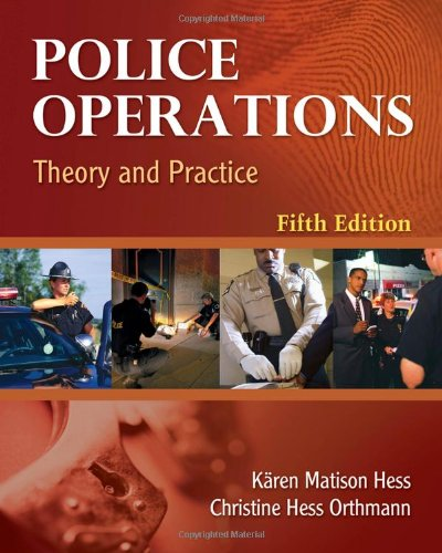 Police Operations Theory and Practice 5th 2011 edition cover
