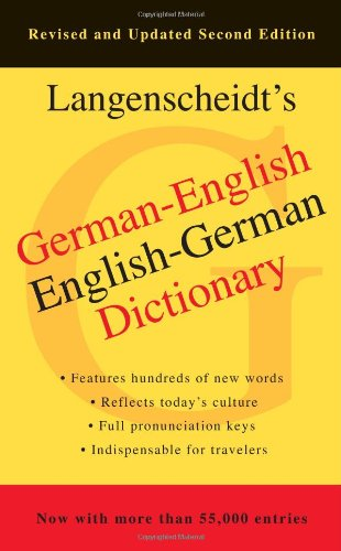 German-English Dictionary, Second Edition  N/A edition cover
