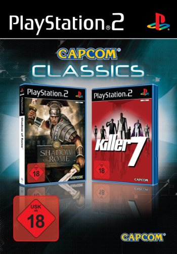 Shadow of Rome + Killer 7 PlayStation2 artwork