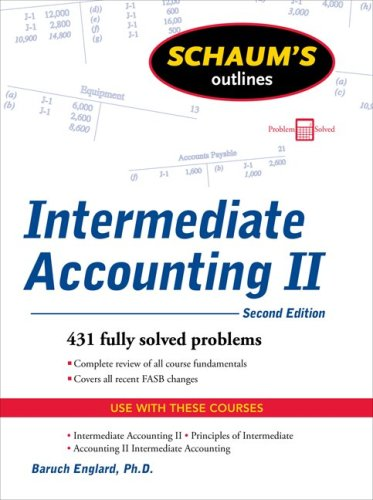 Intermediate Accounting II  2nd 2010 edition cover