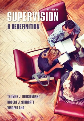Supervision: a Redefinition  9th 2014 edition cover