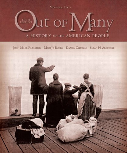 Out of Many A History of the American People 5th 2006 edition cover