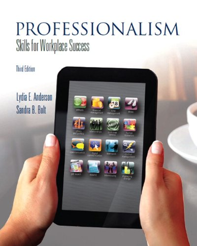 Professionalism Skills for Workplace Success 3rd 2013 (Revised) edition cover
