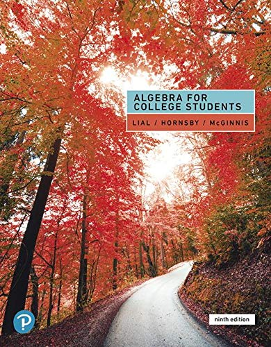 ALGEBRA F/COLLEGE STUDENTS          N/A 9780135160664 Front Cover