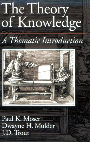 Theory of Knowledge A Thematic Introduction  1997 edition cover