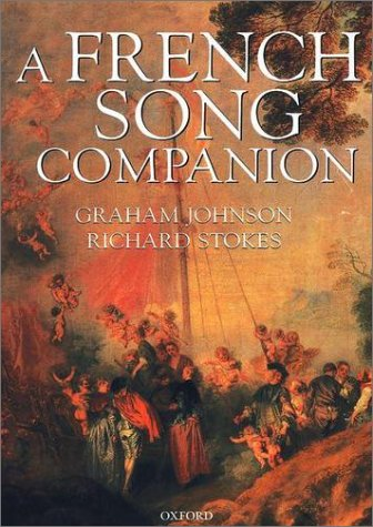 French Song Companion   2002 edition cover