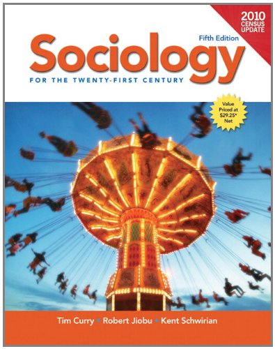 Sociology for the 21st Century, Census Update  5th 2012 (Revised) edition cover