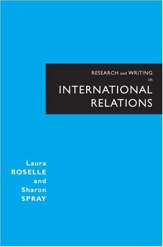 Research and Writing in International Relations   2008 9780321277664 Front Cover