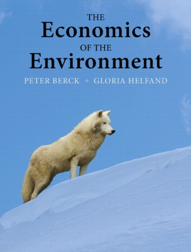 Economics of the Environment   2011 edition cover