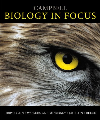 Campbell Biology in Focus   2014 edition cover