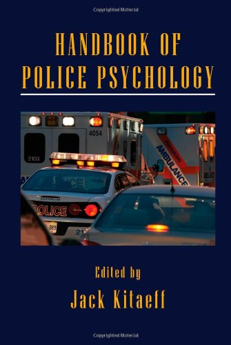 Handbook of Police Psychology   2011 edition cover