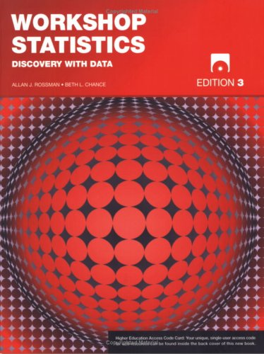 Workshop Statistics Discovery with Data 3rd 2008 edition cover