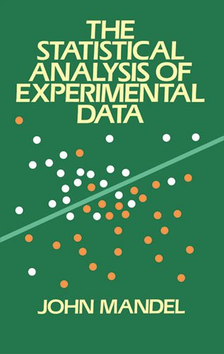Statistical Analysis of Experimental Data  Reprint edition cover
