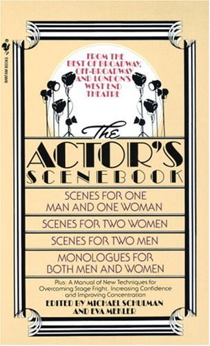 Actor's Scenebook Scenes and Monologues from Contemporary Plays N/A 9780553263664 Front Cover