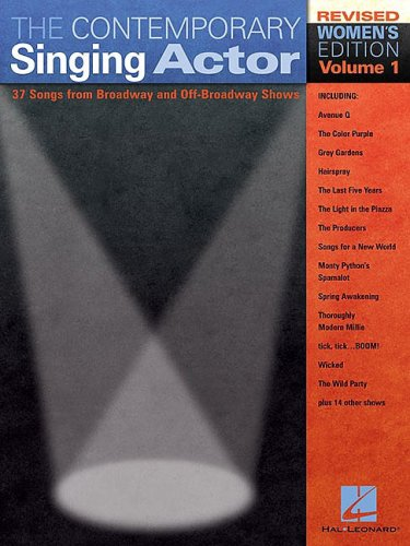 Contemporary Singing Actor  Revised  edition cover