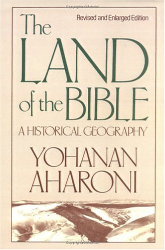 Land of the Bible A Historical Geography 2nd edition cover