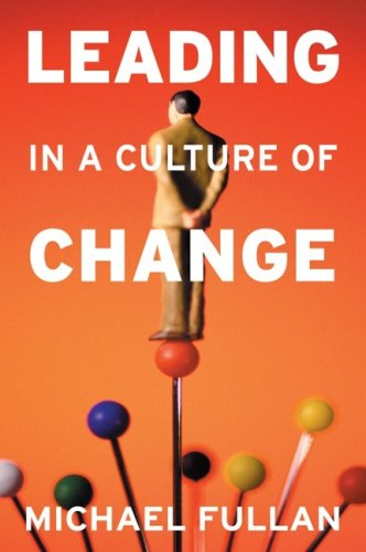 Leading in a Culture of Change   2001 edition cover