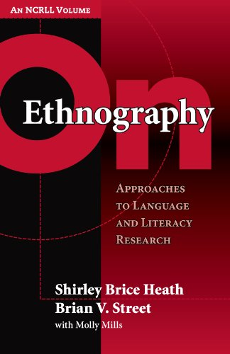 On Ethnography Approaches to Language and Literacy Research  2008 edition cover