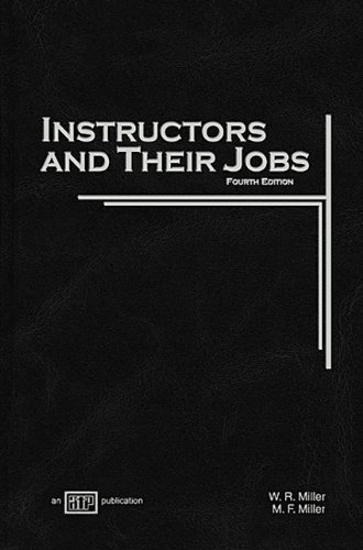 Instructors and Their Jobs  4th 2008 edition cover