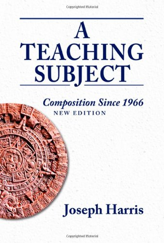 Teaching Subject Composition since 1966, New Edition  2012 edition cover