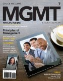MGMT  7th 2015 (Student Manual, Study Guide, etc.) 9781285419664 Front Cover