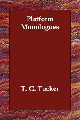 Platform Monologues N/A 9781406812664 Front Cover