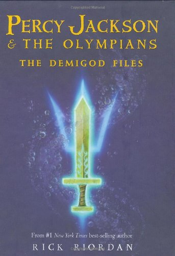 Percy Jackson: the Demigod Files  N/A 9781423121664 Front Cover