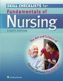 Skills Checklists for Fundamentals of Nursing The Art and Science of Person-Centered Nursing Care 8th 2014 (Revised) edition cover