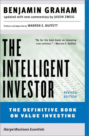 Intelligent Investor The Definitive Book on Value Investing 4th 2003 (Revised) 9780060555665 Front Cover