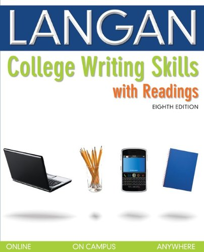 College Writing Skills with Readings  8th 2011 edition cover
