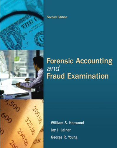 Forensic Accounting and Fraud Examination  2nd 2012 edition cover