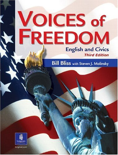 Voices of Freedom English and Civics 3rd 2002 (Student Manual, Study Guide, etc.) edition cover