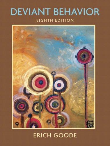 Deviant Behavior  8th 2008 edition cover