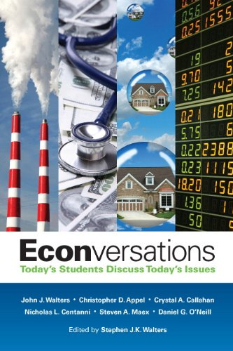 Econversations Today's Students Discuss Today's Issues  2013 (Revised) edition cover