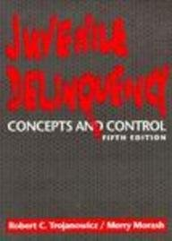 Juvenile Delinquency Concepts and Control 5th 1992 9780135118665 Front Cover