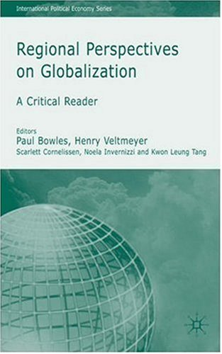 Regional Perspectives on Globalization   2007 9780230004665 Front Cover