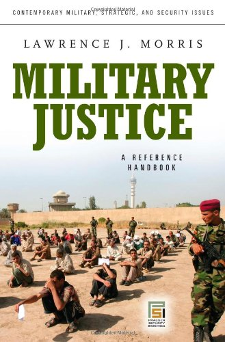 Military Justice   2010 (Handbook (Instructor's)) edition cover