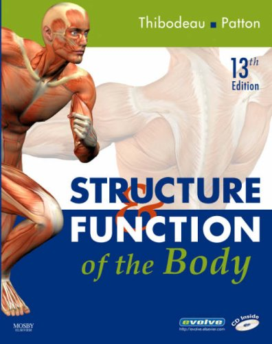 Structure and Function of the Body  13th 2008 edition cover