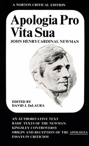 Apologia Pro Vita Sua   1968 edition cover
