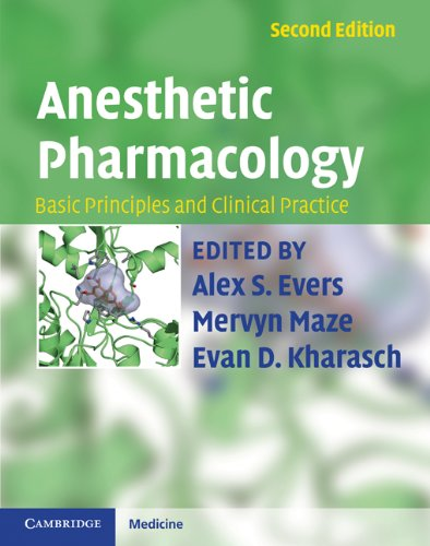 Anesthetic Pharmacology Basic Principles and Clinical Practice 2nd 2011 edition cover